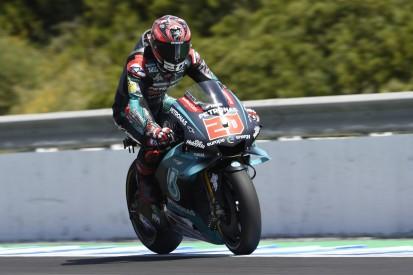 MotoGP Jerez Qualifying: Rookie Quartararo auf Pole, Rossi nur P13