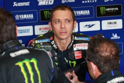 Startplatz 13 in Jerez: Valentino Rossi von den Kunden-Yamahas vorgeführt