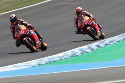 Marquez erwartet schwieriges Rennen, Lorenzo trotz Sturz zufrieden