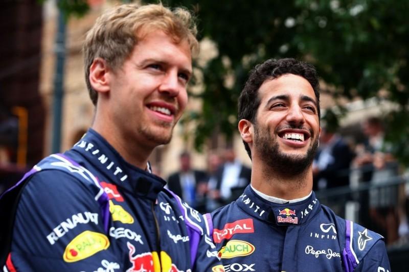 "Ricciardo über Red-Bull-Duell mit Vettel: ""Hatte keinen Druck"""