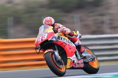 MotoGP Jerez Warm-up: Marc Marquez nach kuriosem Sturz Schnellster