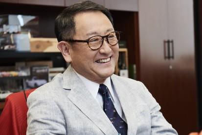 Konzernchef Akio Toyoda äußert sich zum WM-Titel in der LMP1