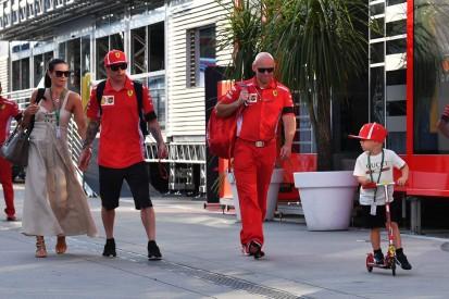 """Räikkönen-Sohn Robin auf Abwegen: """"Momentan mag er Motorräder mehr ..."""""""