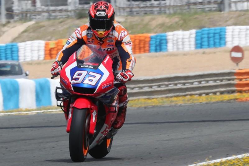 Marquez testet neues Honda-Chassis: Gleiches Feedback wie Bradl