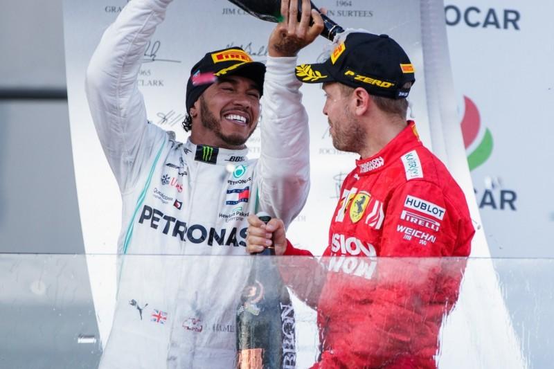 """Sebastian Vettel über Respekt vor Hamilton: """"Lewis sticht heraus"""""""
