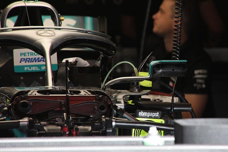 Spiegel und Co.: Erste Bilder zum großen Mercedes-Update in Barcelona