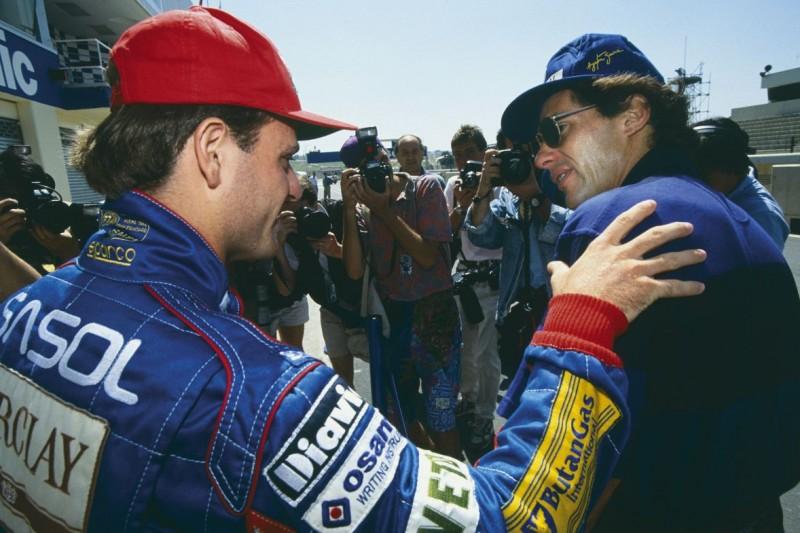 Wie Ayrton Senna Rubens Barrichello 1993 unterstützt hat