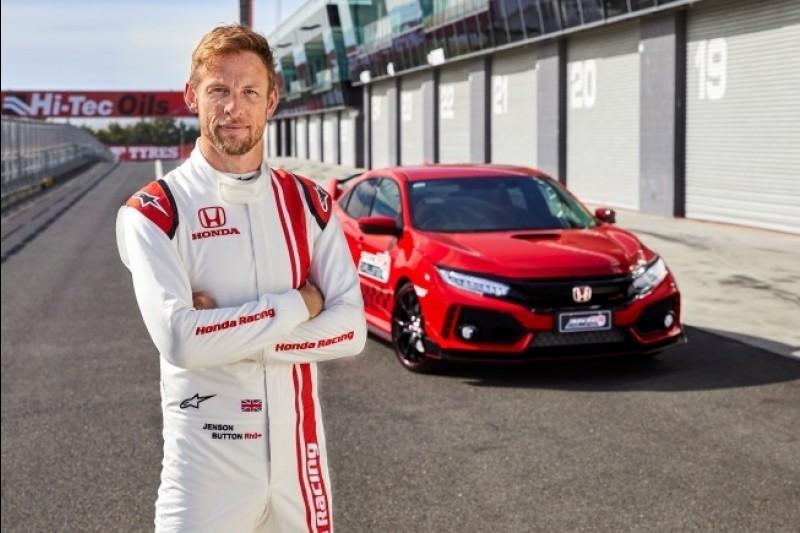 Jenson Button stellt neuen Rundenrekord in Bathurst auf
