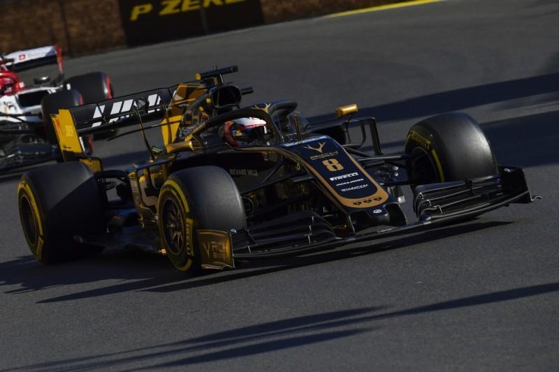 Wegen Reifenproblemen: Nur Romain Grosjean am Freitag mit Haas-Updates