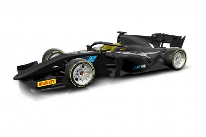 Formel 2 bekommt 18-Zoll-Reifen ein Jahr früher als Formel 1