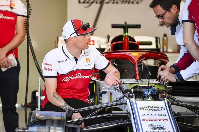 """Ganz vorne im Mittelfeld: Saisonbeginn für Räikkönen trotzdem nur """"so lala"""""""