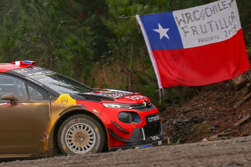Rallye Chile: Polizist fährt eigenmächtig in Prüfung und verletzt sich