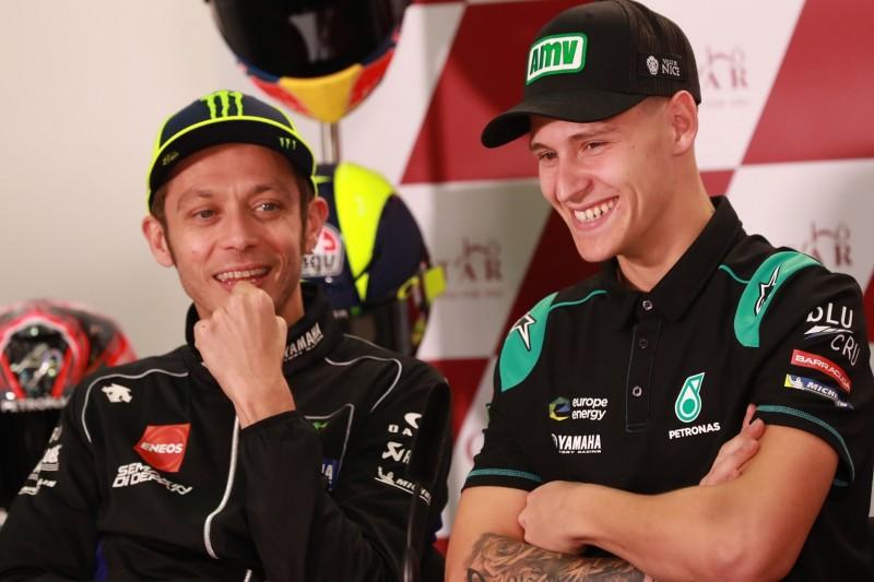 """Valentino Rossi glaubt: """"Quartararo auch in Zukunft schwer zu schlagen"""""""