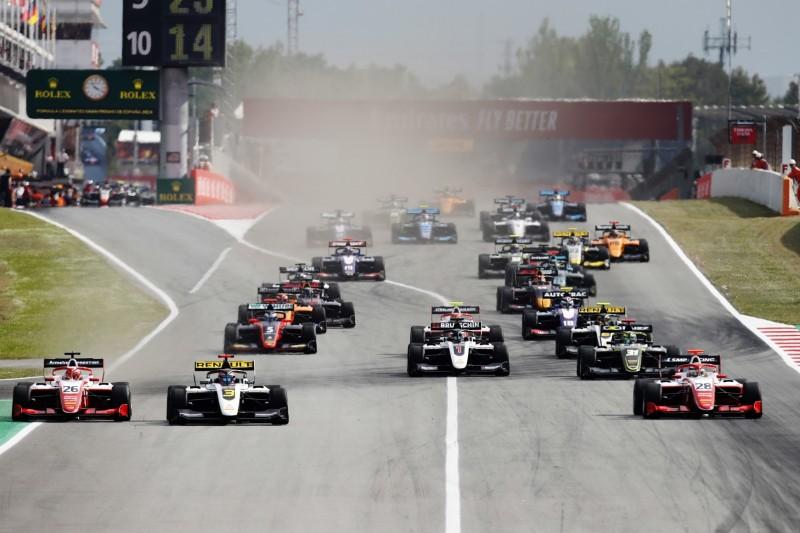 Strafe gegen Sieger: Premiere der neuen Formel 3 endet mit Aufreger