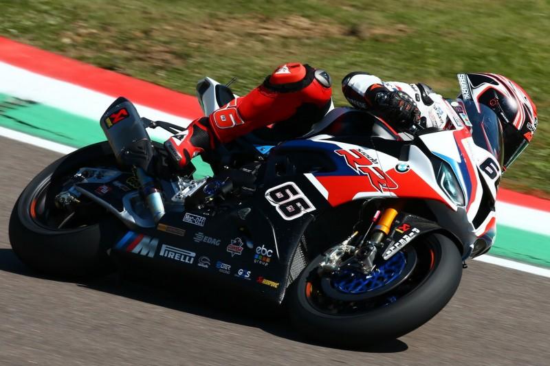 BMW: Defekt bringt Sykes in Imola um Platz drei, Reiterberger in den Top 10