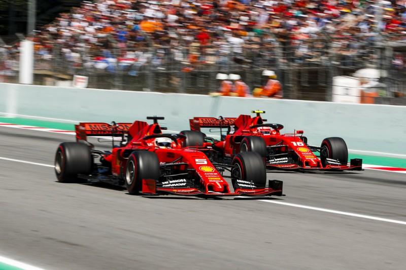 """""""War okay"""": Vettel stellt sich hinter Ferrari-Entscheidungen"""