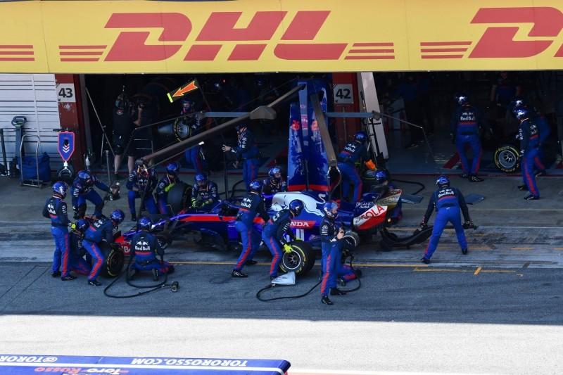 Toro Rosso verhaut Boxenstopp komplett: Was war da los?