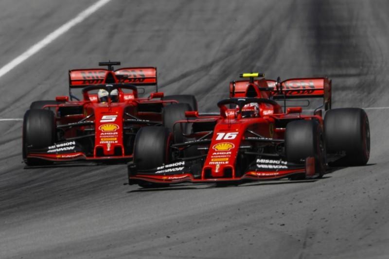 Binotto erklärt: Darum wartete Ferrari in Barcelona mit dem Positionstausch