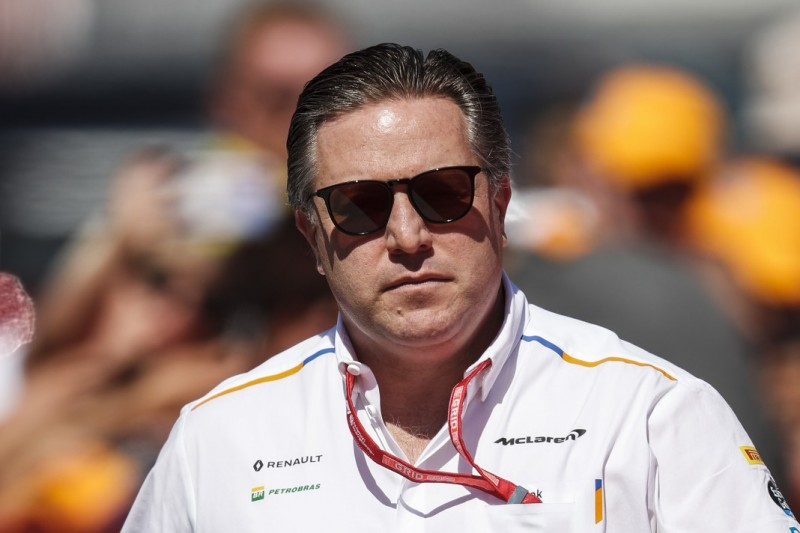 """Best of the Rest"": Zak Brown mit McLaren-Saisonaufrakt 2019 zufrieden"