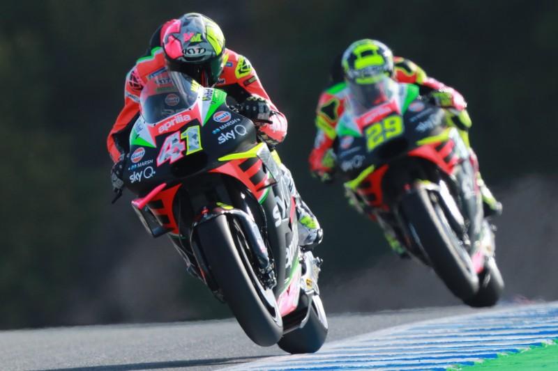 Aprilia in Le Mans: Aleix Espargaro optimistisch, Andrea Iannone fit genug?
