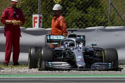 Formel-1-Test Barcelona: Mercedes erst im Kiesbett, dann mit Bestzeit