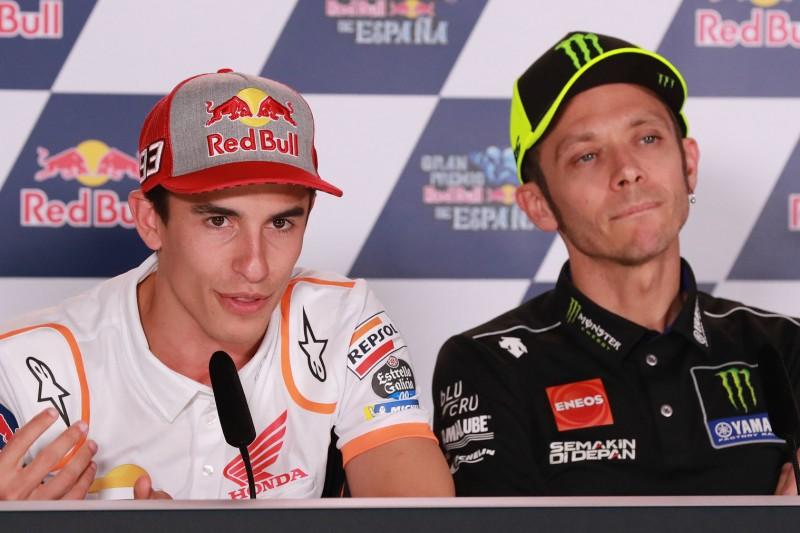 """Marquez: """"Ich lernte viel von Valentino und lerne noch immer von ihm"""""""