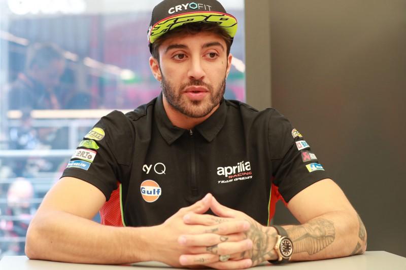 """Nach Jerez-Sturz: Aprilia-""""Chefentwickler"""" Iannone für Le Mans fit erklärt"""