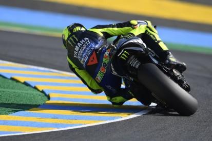 Kette gerissen und langsamste Yamaha: Rossi fährt in Le Mans hinterher