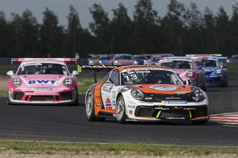 Porsche-Carrera-Cup: Larry ten Voorde gewinnt im tschechischen Most