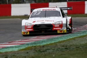 DTM-Rennen Zolder 2: Audi-Pilot Rene Rast schlägt mit Sieg zurück
