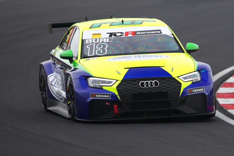 TCR Germany in Most: Antti Buri gewinnt im Audi zweites Rennen