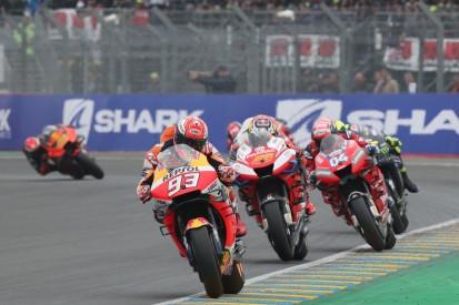 Marc Marquez auch im kühlen Le Mans eine Klasse für sich