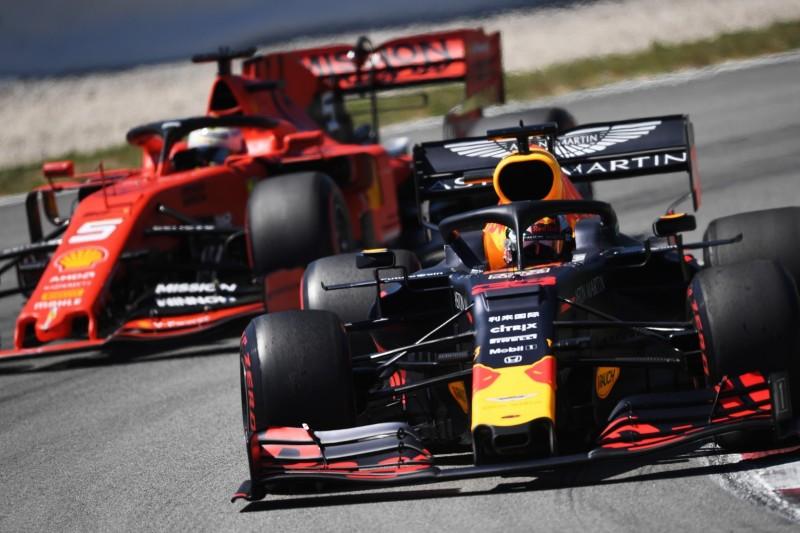 Verstappen: Red Bull sollte nicht vor Ferrari liegen