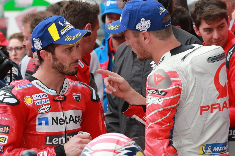 Ducati: Jack Miller lässt Andrea Dovizioso vorbei und ärgert sich danach