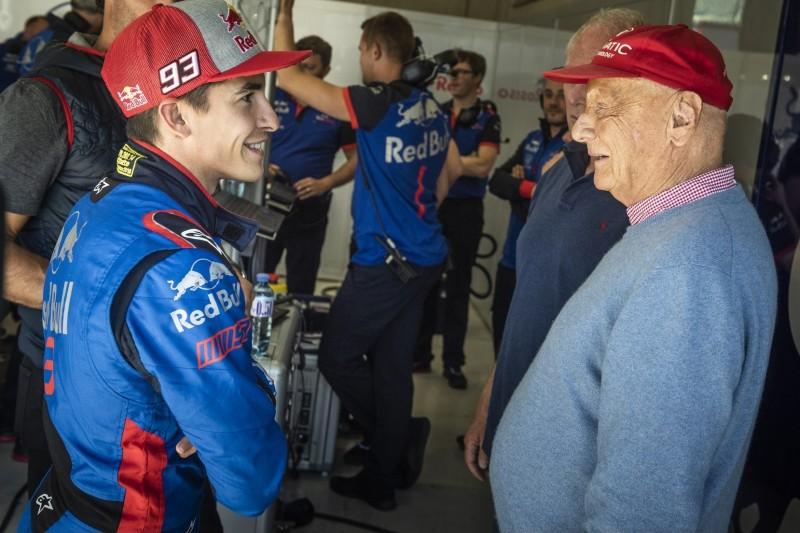 """Auch die MotoGP erweist Niki Lauda die Ehre: """"Einen Freund verloren"""""""