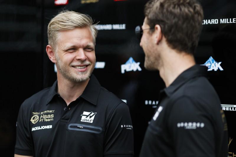 "Nach Haas-Scharmützel: Grosjean und Magnussen betonen ""gute"" Beziehung"