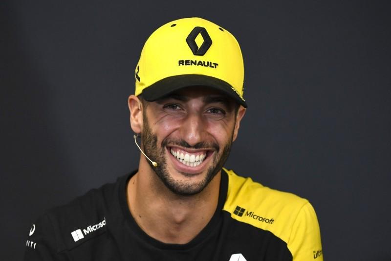 Keine Podestplätze erwartet: Daniel Ricciardos Motivation ungebrochen