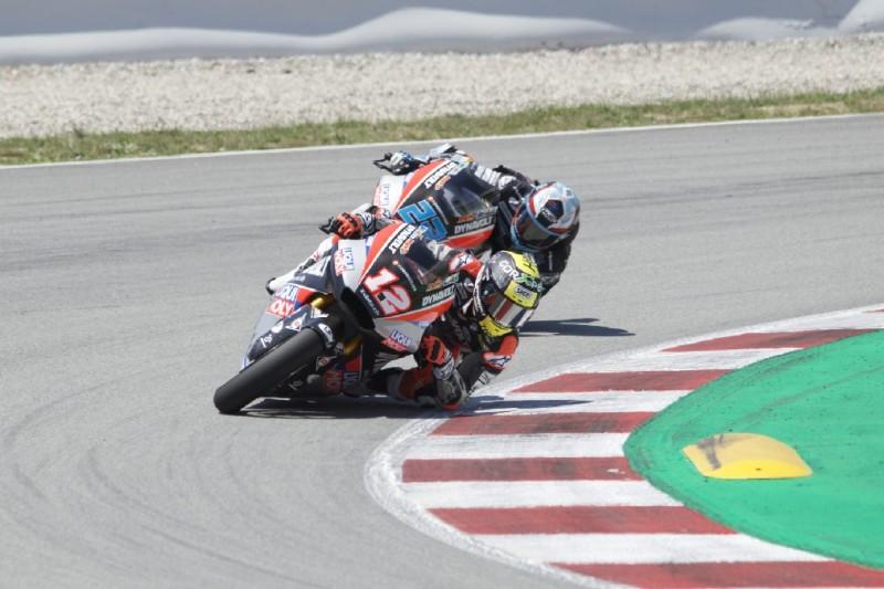 Lüthi und Schrötter beim Moto2-Test in Barcelona fleißig