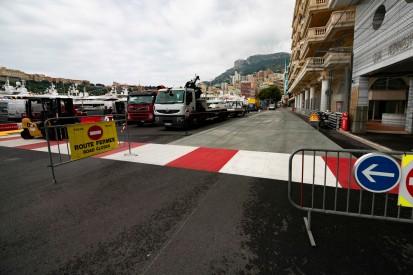 Monaco 2019: Neuer Asphalt in Auslaufzone der Nouvelle Chicane