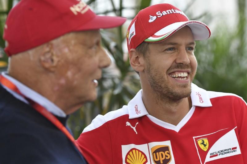 Sebastian Vettel: Niki Lauda war genau so wie im Fernsehen