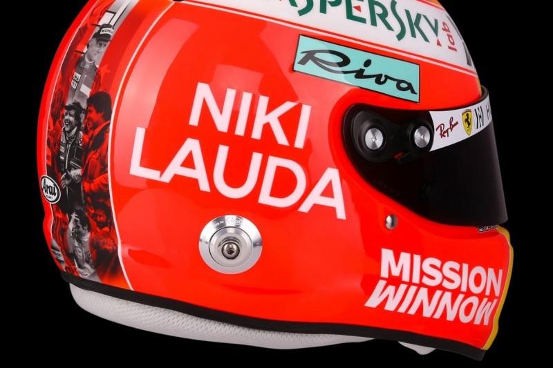 Tribut-Helm: Sebastian Vettel erinnert in Monaco an Niki Lauda