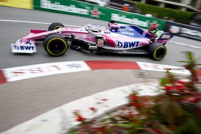 "Sergio Perez: Balance okay, aber ""halbe Sekunde zu langsam"""