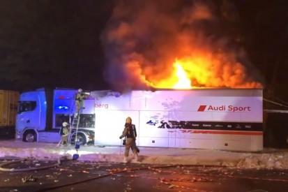 Rosberg-Teamtruck in Flammen: Ehepaar verhinderte in Zolder Katastrophe