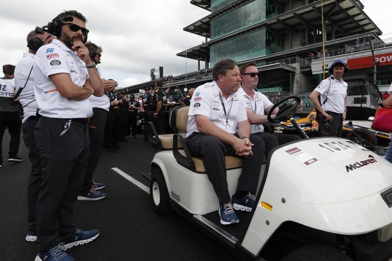 McLaren-Boss Zak Brown: Rückkehr zum Indy 500 2020 angedacht