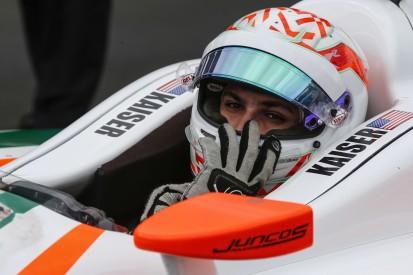 Alonso-Bezwinger Kyle Kaiser: Zwei neue, zwei alte Sponsoren für das Indy 500