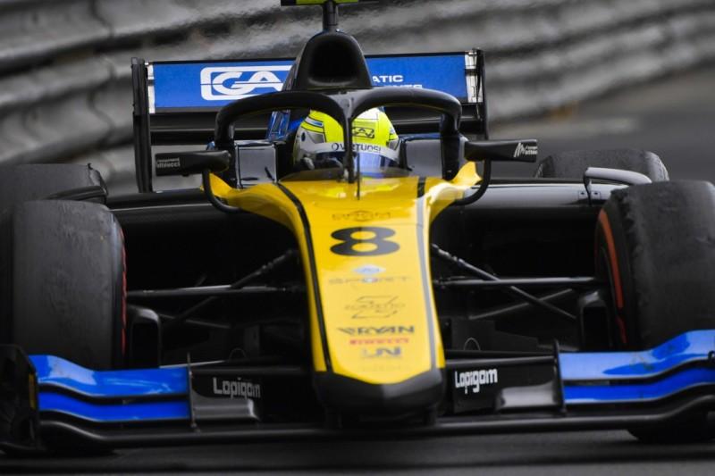 Formel 2 Monaco: Luca Ghiotto verliert Platz zwei im Hauptrennen
