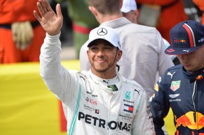 59 Mercedes-Poles: Hamilton bricht Schumacher-Rekord