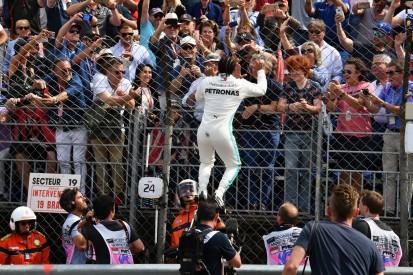 Warum Lewis Hamilton die Pole so intensiv gefeiert hat