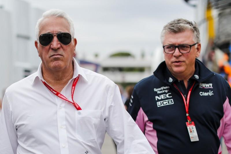 Szafnauer: Hat wegen Stroll kein Gespräch mit Perez gegeben