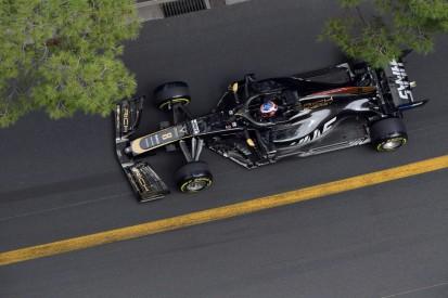 Unachtsam bei der Boxenausfahrt: Haas-Pilot Grosjean kassiert Strafe